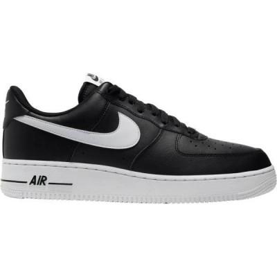 ナイキ メンズ エアフォースワン Nike Air Force 1 '07 スニーカー BLACK/WHITE/BLACK