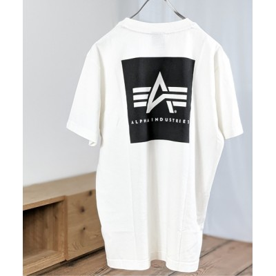 tシャツ Tシャツ ALPHA/アルファ フライングAマークバックプリントTEE