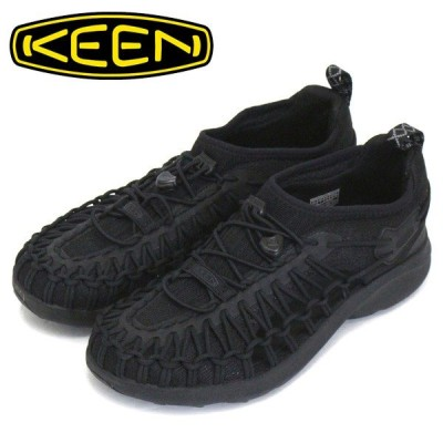 KEEN (キーン) 1022404 Women's UNEEK SNK ユニーク スニーク レディース スニーカー BLACK/BLACK KN462
