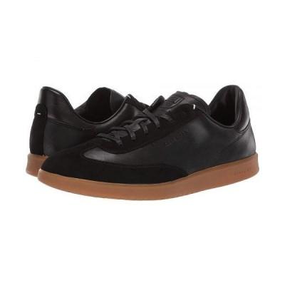 Cole Haan コールハーン メンズ 男性用 シューズ 靴 スニーカー 運動靴 Grandpro Turf Sneaker - Black Tumbled/Black Suede