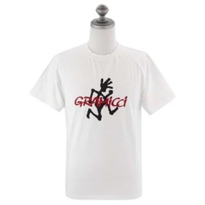GRAMICCI グラミチ 半袖Tシャツ 2020年春夏新作 1949-STS LOGO TEE メンズ クルーネック WHITE ホワイト