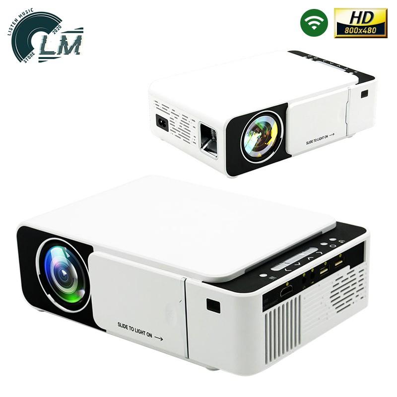 LM 入門款 HD 480P 智能投影機 支援1080P 3000流明 170吋 無線同屏 投影機 微型投影機 手機投影