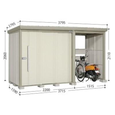 物置 屋外 おしゃれ タクボ物置 TP/ストックマンプラスアルファ TP-S3715 多雪型 標準屋根 『追加