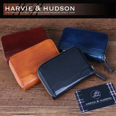 HARVIE&HUDSON ハービーアンドハドソン イタリアキャピタルレザー カードケース アコーディオン 選択 HA-5005 定価11880円