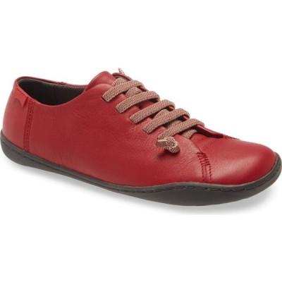 カンペール CAMPER レディース スニーカー レースアップ シューズ・靴 Peu Cami Lace-Up Sneaker Medium Red Leather