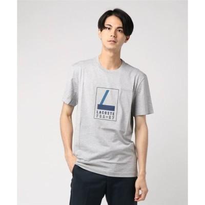 tシャツ Tシャツ グラフィックラバープリントTシャツ