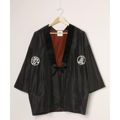 ジャケット ブルゾン SHIBUYA Embroidery SOUVENIR NYLON HANTE
