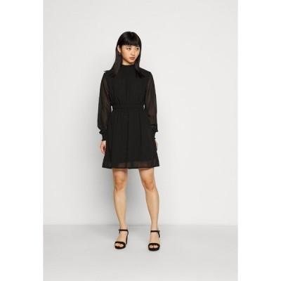 ピーシーズ プティ ワンピース レディース トップス PCAMALIE DRESS - Day dress - black