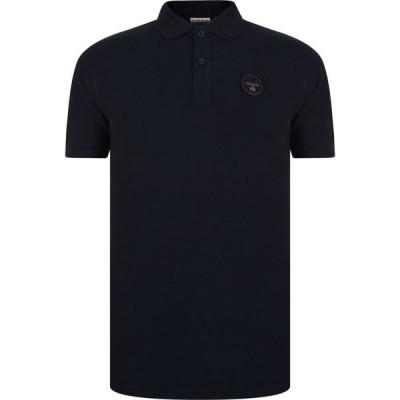 ナパピリ Napapijri メンズ ポロシャツ トップス Polo Shirt Blu Marine