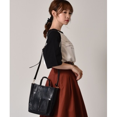 RETRO GIRL / ポケ付2WAYバッグ WOMEN バッグ > トートバッグ
