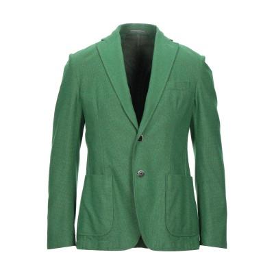 ローダ RODA テーラードジャケット グリーン 50 コットン 50% / ウール 30% / ナイロン 10% / シルク 10% テーラードジ