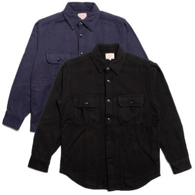 ビッグマイク ヘビー フランネルシャツ ジャケット BIG MIKE HEAVY FLANNEL SHIRTS JACKET ブラック