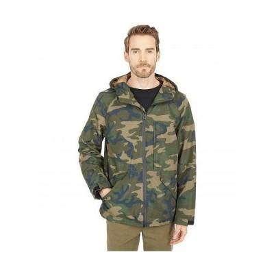 Levi's(R) リーバイス メンズ 男性用 ファッション アウター ジャケット コート レインコート Midlength Performance Rain Jacket - Camouflage