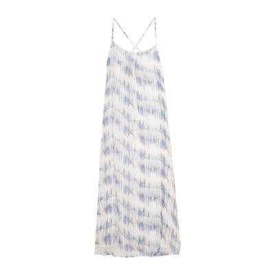 ハイディクライン HEIDI KLEIN ロングワンピース&ドレス ライトグレー L シルク 100% ロングワンピース&ドレス