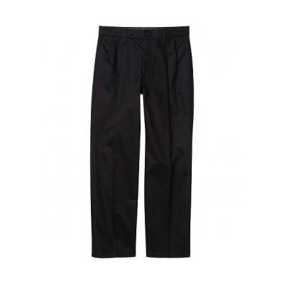 Dockers ドッカーズ メンズ 男性用 ファッション パンツ ズボン Straight Fit Signature Khaki Lux Cotton Stretch Pants - Pleated - Black