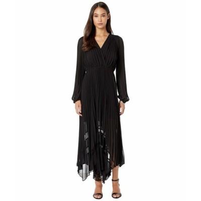 ザ・クープルス ワンピース トップス レディース Long Pleated Dress Black