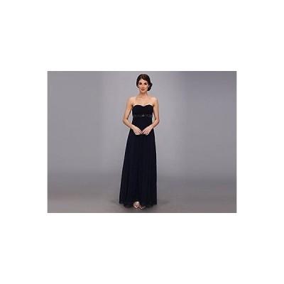ドレス ジェシカシンプソン JSA5338-BLU Jessica Simpson レディース ストラップless Sweetハート Pleated Bodice Gown 2 Evening Blue