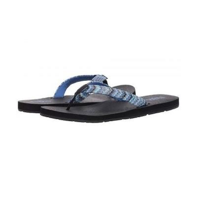 Flojos フロホース レディース 女性用 シューズ 靴 サンダル Juno Weave - Navy