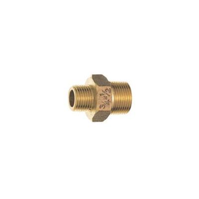 砲金異径六角ニップル JT700-1-20×13