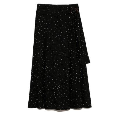 【フレイ アイディー/FRAY I.D】 リネンナロースカート