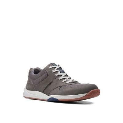 クラークス ドレスシューズ シューズ メンズ Men's Langton Race Lace-Up Shoes Gray