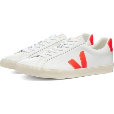 ヴェジャ Veja メンズ スニーカー シューズ・靴 Esplar Clean Leather Sneaker White/Fluo Orange