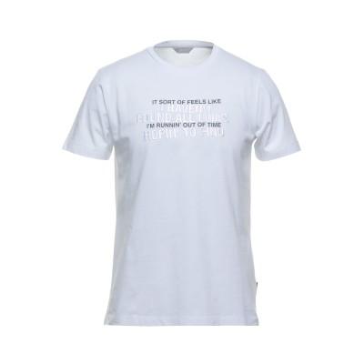 SSEINSE T シャツ ホワイト L コットン 100% T シャツ