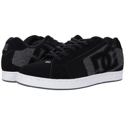 ディーシーシュー Net メンズ スニーカー 靴 シューズ Black/Armor/White