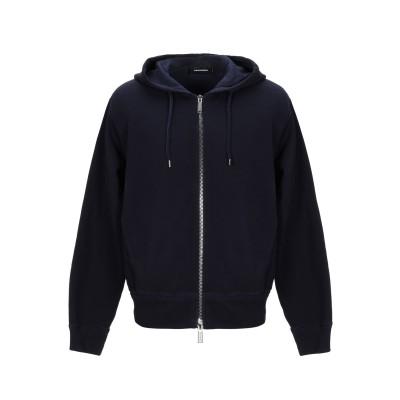 ディースクエアード DSQUARED2 スウェットシャツ ダークブルー XS コットン 100% / ポリウレタン スウェットシャツ
