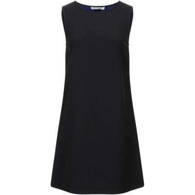 CARACTÈRE ミニワンピース&ドレス ブラック 38 ポリエステル 64% / レーヨン 32% / ポリウレタン 4% ミニワンピース&ドレス