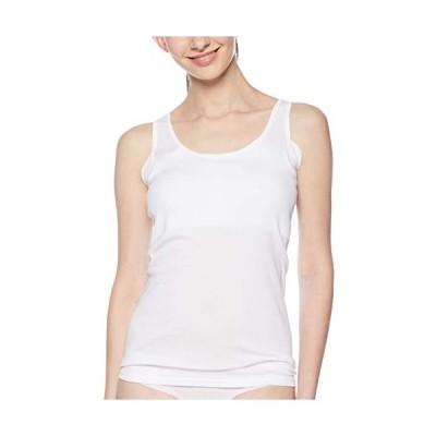 ベルメゾン タンクトップ 汗取りインナー・綿100% くつろぎタンクトップ レディース E87608 オフホワイト 日本 S (日本サイズS