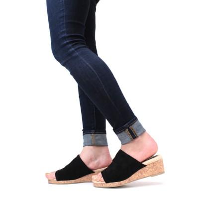 ZealMarket/SFW / シルエットと履き心地を追求したワンバンドストレッチ美脚サンダル WOMEN シューズ > サンダル