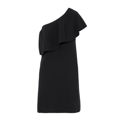 ミリー MILLY ミニワンピース&ドレス ブラック S レーヨン 62% / ポリウレタン 25% / ポリエステル 13% ミニワンピース&ドレス