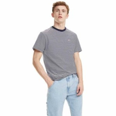 tommy-jeans トミー ジーンズ ファッション 男性用ウェア Tシャツ tommy-hilfiger all-over-stripe