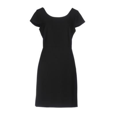 ダイアンフォンファステンバーグ DIANE VON FURSTENBERG ミニワンピース&ドレス ブラック 8 ポリエステル 63% / レーヨン