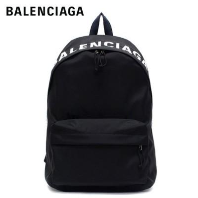 【2020SS】バレンシアガ  WHEEL BACKPACK ナイロン バックパック・リュック【ブラック×ネイビーブルーベルト】 507460 HPG1X 1090/BALENCIAGA/m-bag