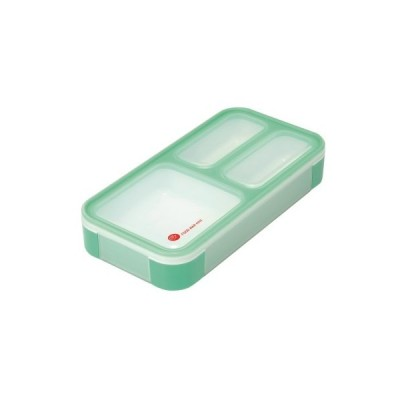 薄型弁当箱フードマンミニ ミントグリーン