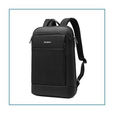 新品Slim Laptop Backpack Business Backpacks (15.6 Inch, Black)【並行輸入品】
