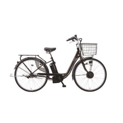 電動アシスト自転車 26インチ 電動自転車 suisui 後ろ乗せ ブラウン