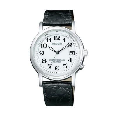シチズン 電波ソーラー時計 電波腕時計 レグノメンズ KL7-019-10