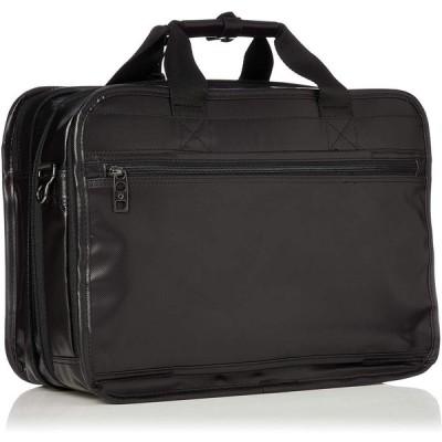 バーマス ビジネスバッグ インターシティ A4サイズ対応 エキスパンド機能付き 60460 ブラック One Size