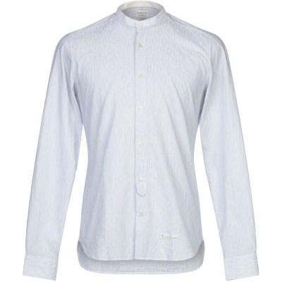 TINTORIA MATTEI 954 シャツ ライトグレー 39 コットン 100% シャツ