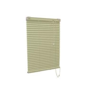 アルミ製 ブラインド 【60cm×108cm グリーン】 日本製 折れにくい 光量調節 熱効率向上 『ティオリオ』【代引不可】