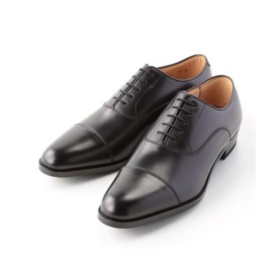 [靴]リーガル 紳士靴 内羽根ストレートチップ 114S ブラック 25