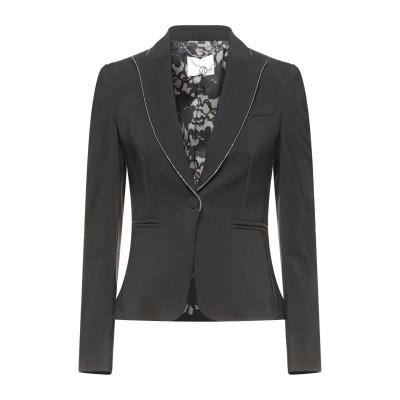 レリッシュ RELISH テーラードジャケット ブラック 40 ポリエステル 88% / ポリウレタン 12% テーラードジャケット