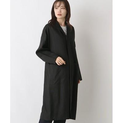MARcourt/マーコート linen shirt coat black FREE