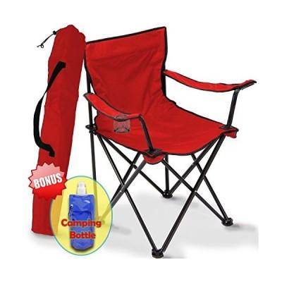 折り畳み式キャンプチェア ポータブルキャリーバッグ 収納や旅行に 最高の耐久性 アウトドアクワッド