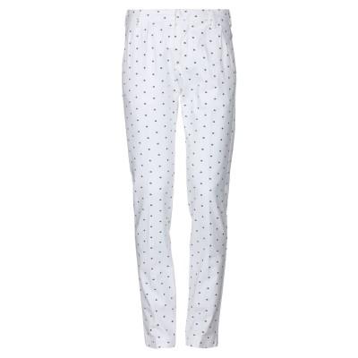 アントレ アミ ENTRE AMIS パンツ ホワイト 29 コットン 85% / ポリエステル 12% / ポリウレタン 3% パンツ
