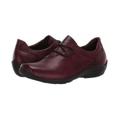 Wolky ウォーキー レディース 女性用 シューズ 靴 スニーカー 運動靴 Rosa - Oxblood