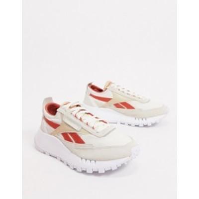 リーボック レディース スニーカー シューズ Reebok Classic Legacy sneakers in off white Beige